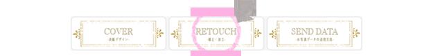 写真の補正・加工については上部にあるRETOUCH-写真の補正・加工-をクリック