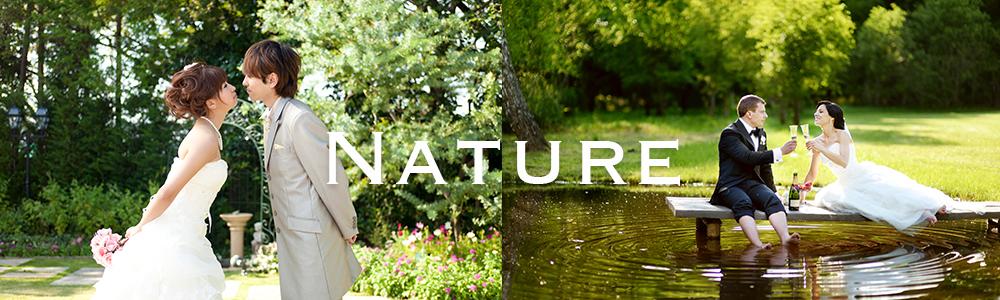 自然の中で広々としたショットを撮りましょう